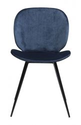 Chair Cloud Velvet | Blue
