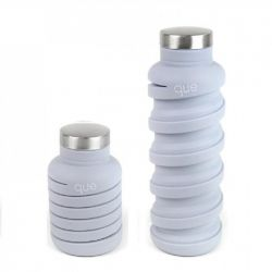 Collapsible Water Bottle | Glacier White