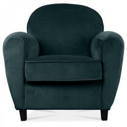 Club Armchair Velvet | Mint Green