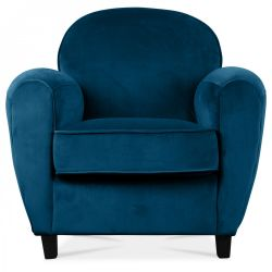 Club Armchair Velvet | Blue