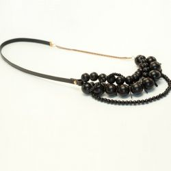 Bari Necklace Black