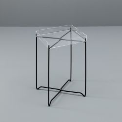 Table d'Appoint CO042TR | Transparent