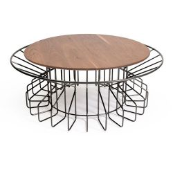 Amarant Coffee Table | Black