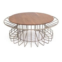 Amarant Coffee Table | Champagne
