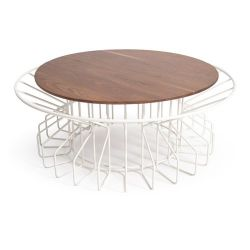 Amarant Coffee Table | White
