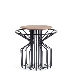 Amarant Coffee Side Table | Zwart