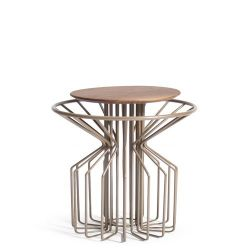 Amarant Coffee Side Table | Champagne