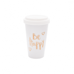 Mug To Go | Be Happy