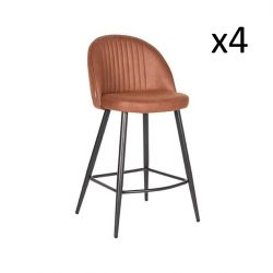Barstool Tyler | Cognac | Set of 4