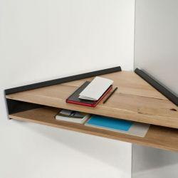 Briccola-ge Schreibtisch/Regal | Schwarz