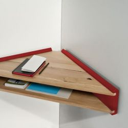 Briccola-ge Desk/Shelf | Red