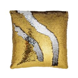 Mermaid Sequin Pillow Cover | Gold/Silver