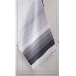 Towel Colorful | Black