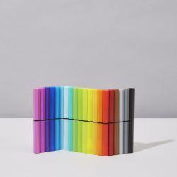 Satz mit 20 nachfüllbaren Stiften | Farbausgabe