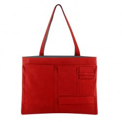 Reversible Shoulder Bag Concorde | Grey & Red