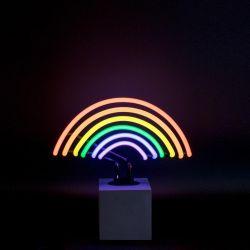Neon Lamp Beton | Regenboog