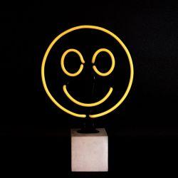 Neon Licht Beton | Smiley