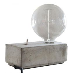 Lamp in Beton