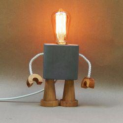 Robo Lamp | Concrete