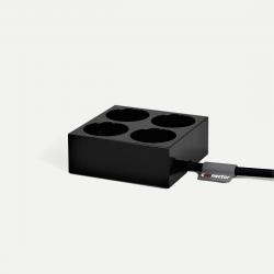 Mehrfachsteckverbinder | Schwarz