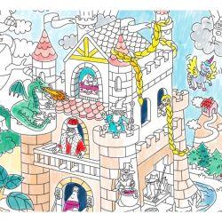 Poster zu Farbe | Ritter und Feen