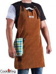 BBQ-Schürze | Leder