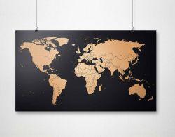 Weltkarte | Kupfer