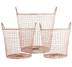Wire Basket | Set/3