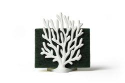 Schwammhalter Koralle | Weiß
