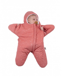 Sleeping Bag Star 3-6m | Coral Red