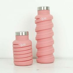 Collapsible Water Bottle | Coral Pink
