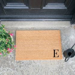 Doormat Monogram Corner Straight | E