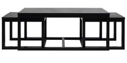 Coffee Table Coco Set of 3 | Black