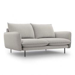 Sofa VIENNA | 2 Sitze | Hellgrau