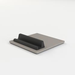Telefon- und Tablettenhalter-Fliese | Grau
