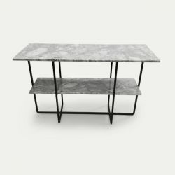 Side Table Council | Carrara Marble