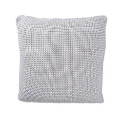 Roccamare Knitted Cushion | Grey