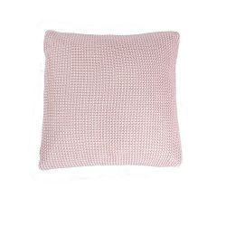 Roccamare Knitted Cushion | Blossom Rose