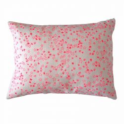 Pink Stars Cushion | Rectangular
