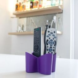 Remote Tidy Cozy | Purple