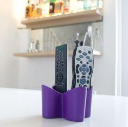 Remote Tidy Cozy | Purple