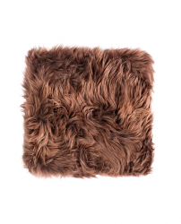 New Zealand Sheepskin Chair Pad Square | Brown