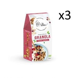 Granola 300 g Set of 3 | Cranberry