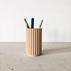 Wooden Crayon Holder Stockholm