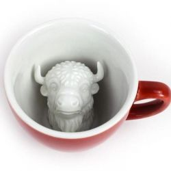 Creature Cup Bison | Burnt Brick