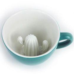 Tasse Creature Cup Kaktus | Türkis