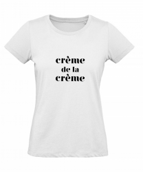 ♀ T-shirt Crème | Blanc