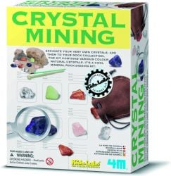 Kit de Science Crystal Mining