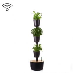 Smart Self-Watering Herbs Vertical Garden | Black