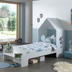 House Bed Casami | 140 x 90 cm | White